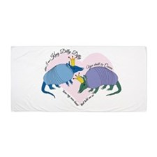 King Dilly Dilly in Love Beach Towel