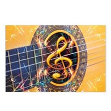 Acoustic Guitar Explosion Postcards (Package of 8)