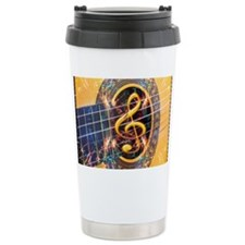 Acoustic Guitar Explosion of Mu Travel Mug