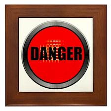DANGER Framed Tile