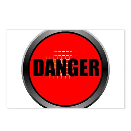DANGER Postcards (Package of 8)