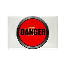 DANGER Rectangle Magnet