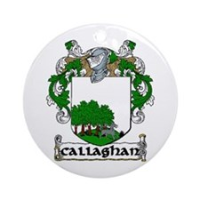 Callaghan Coat of Arms Ornament (Round)