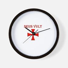 Cute Deus Wall Clock