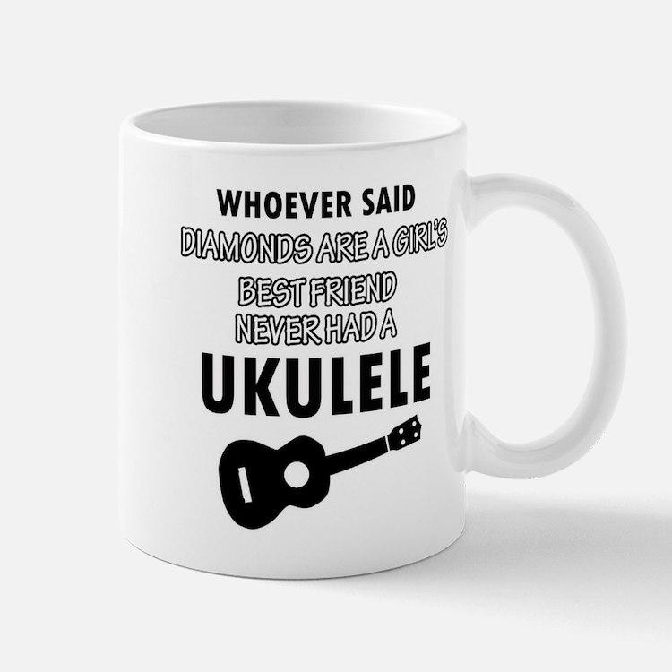 Ukulele Design better than Diamonds Mug