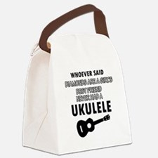 Ukulele Design better than Diamonds Canvas Lunch B