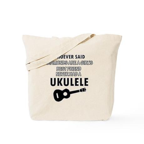 Ukulele Design better than Diamonds Tote Bag