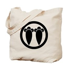 Two parallel cloves in circle Tote Bag