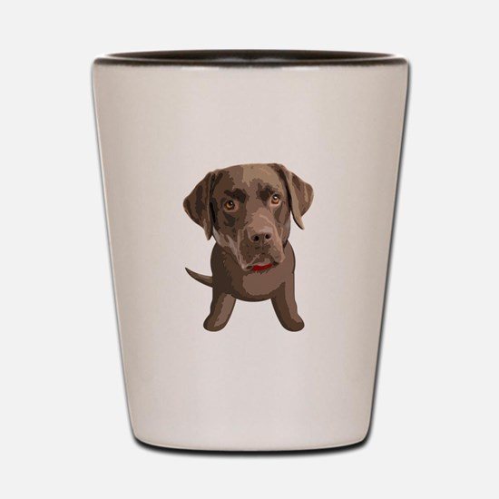 labrador_retriever003 Shot Glass