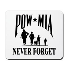 POW-NEVER FORGET-2- Mousepad