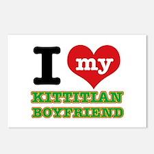 I love my Kittitian Boyfriend Postcards (Package o