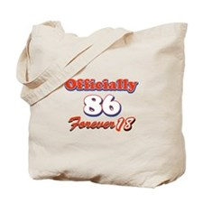 Officially 86 designs Tote Bag