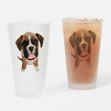 Boxer004 Drinking Glass