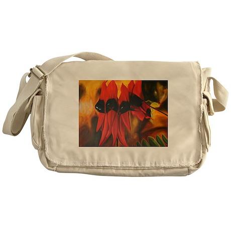 Sturts Desert Pea Messenger Bag