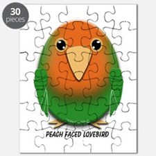 Peach Faced Lovebird Puzzle