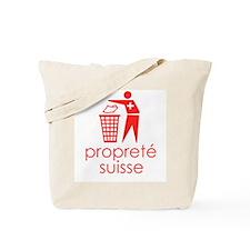 [proprete suisse] Tote Bag