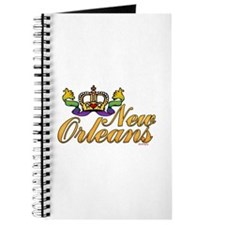 New Orleans Mardi Gras Crown Journal