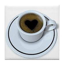Coffee Love Tile Coaster