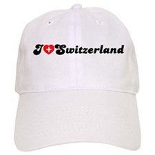 [i love switzerland] Baseball Cap
