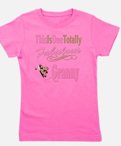 A Fabulous Granny copy.png Girl's Tee