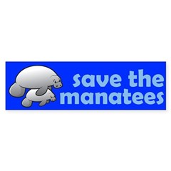 http://i3.cpcache.com/product/95421055/save_the_manatees_bumper_bumper_sticker.jpg?color=White&height=240&width=240