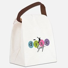 disc golf launch classic Canvas Lunch Bag