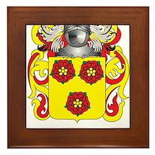 Velten Family Crest (Coat of Arms) Framed Tile