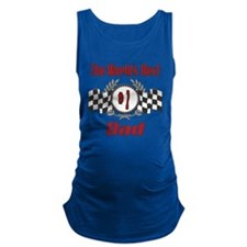 Racing1DAD.png Maternity Tank Top