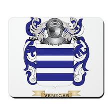 Venegas Family Crest (Coat of Arms) Mousepad