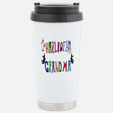 Halloween Grandma Travel Mug