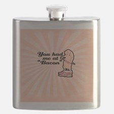 You had me at bacon Flask