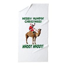 Merry Humpin Christmas Santa Hump Day Camel Beach