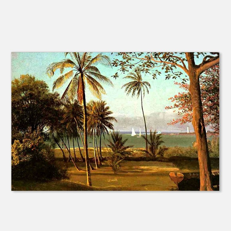 Florida Scene, painting b Postcards (Package of 8)