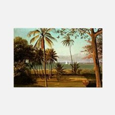 Florida Scene, painting by Albert Rectangle Magnet