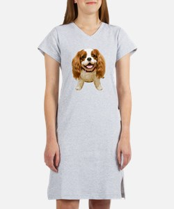 CavalierKingCharlesSpaniel002 Women's Nightshirt