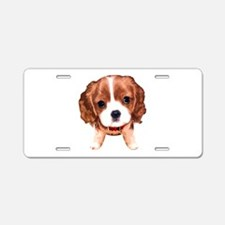 CavalierKingCharlesSpaniel003 Aluminum License Pla