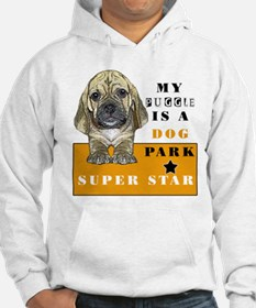 mY PUGGLE IS A DOG PARK SUPER Hoodie