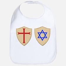 Zionist Crusader Bib