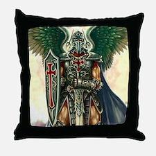 Archangel Uriel Throw Pillow