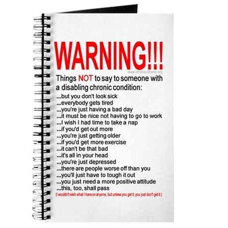 Chronic Condition Warning Journal