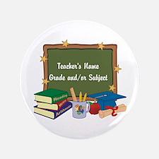 """Custom Teacher 3.5"""" Button (100 pack)"""