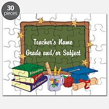 Custom Teacher Puzzle