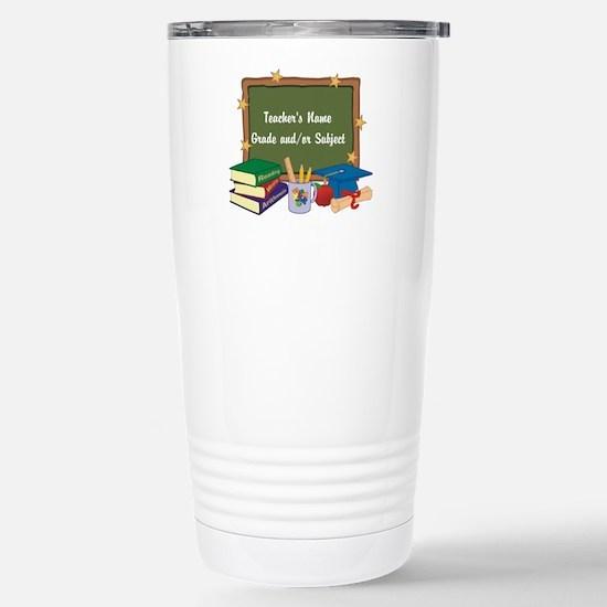 Custom Teacher Travel Mug