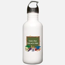 Custom Teacher Water Bottle