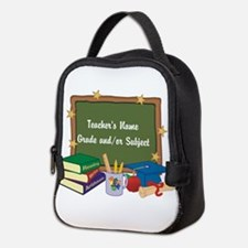 Custom Teacher Neoprene Lunch Bag