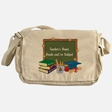 Custom Teacher Messenger Bag