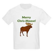 SALE! Merry Chris-Moose! Kids T-Shirt