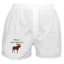 SALE! Merry Chris-Moose! Boxer Shorts