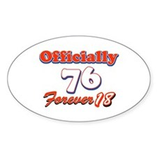 Officially 76 designs Decal