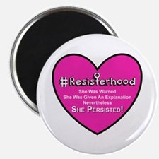 Resisterhood - Heart Magnets